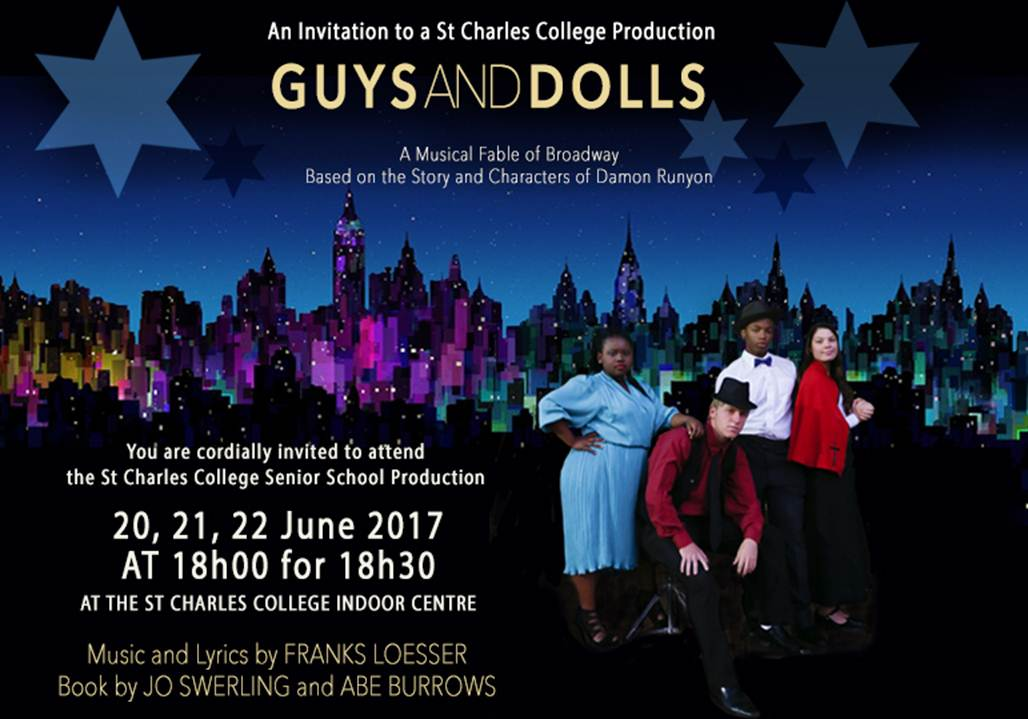 St Charles Production of Guys & Dolls Poster