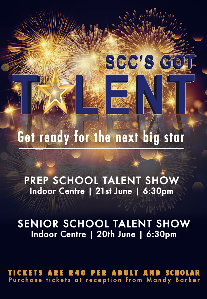 St Charles College Got Talent Poster