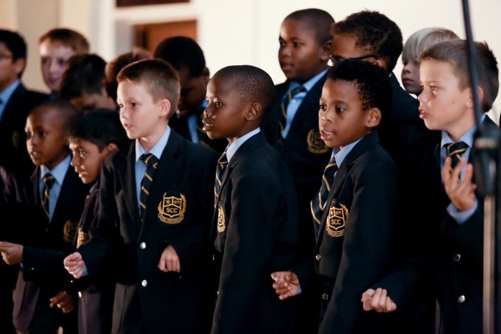 kids singing in a choir